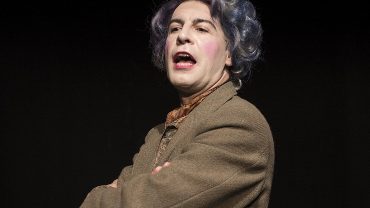 Mark Farrelly in Quentin Crisp